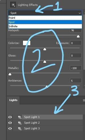 light filter settings