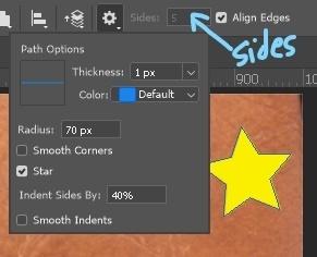 add polygon star