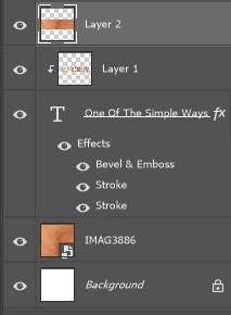 layers arranged