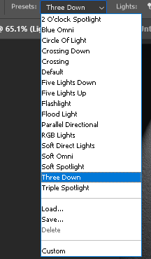 Presets from Photoshop