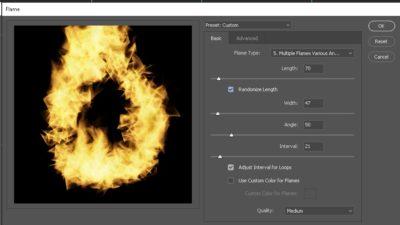 Flame Tool Settings-1