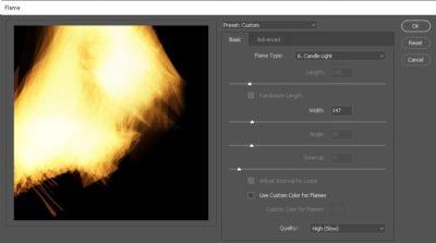 Flame Tool Settings-2