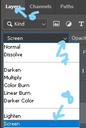 Post 27 - Blend Mode Selection