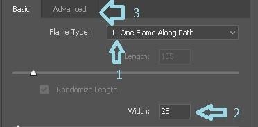 Post 32 - {flame Basic settings
