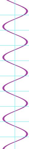 Vertical Single wave
