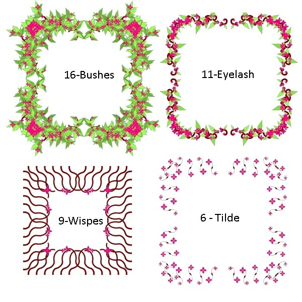 floral forms examples